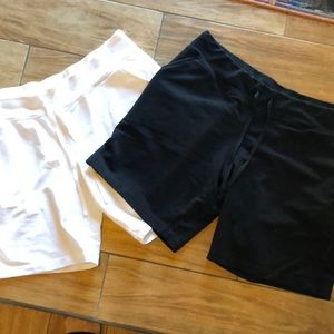 2 pairs of Danskin Now size XL(16-18) shorts